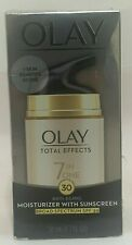 OLAY TOTAL EFFECTS 7 IN ONE MOISTURIZER WITH SUNSCREEN SPF-30 1.7-OZ EXP 08/20+