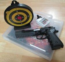 GS Softair Pistole Elite Long mit Koffer Zielscheibe Munition Airsoft 203193