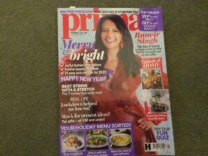 Prima Magazine January 1/2021 Happy New Year! Ranvir Singh Current Issue