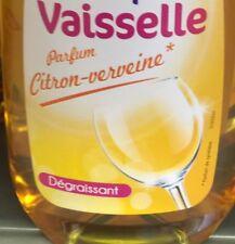 Lot Revendeur Destockage Palette Solderie  7 Liquides Vaisselle Verveine Citron