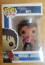 "New ListingCustom Funko Pop! Rock* Michael Jackson ""Beat It"" (Vaulted) w/Protector case"