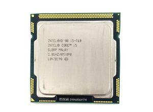 Intel Core i5 760 2.8GHz Quad Core LGA1156 95W CPU Only
