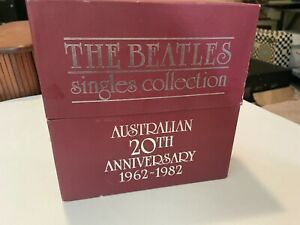 The Beatles Singles Collection ~ Australian 20th Anniversary 1962~1982 Box Set