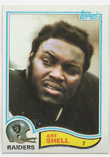 1982 Topps #198 - ART SHELL