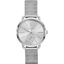 Michael Kors MK3843 Women's 'Portia' Quartz Stainless Steel Silver Tone Watch