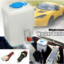 1.8L Auto Car SUV Windshield Glass Washer Reservoir 12V Pump Bottle +Jets+Switch