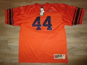 Ernie Davis 1961 Syracuse Orange Heritage Retro 1st Heisman Nike Jersey 2XL NEW
