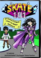 Skate 101 DVD - 30 Learn to Skate Videos - Ice, Quads, Inline Skating Classes