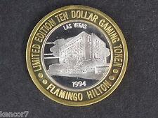 Flamingo Casino Silver Strike Gaming Token Nevada D5249