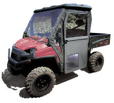 POLARIS RANGER 800 XP HD 2009-14 FULL HALF DOOR SET BLACK CAB DOORS