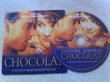 CHOCOLAT Joanne Harris Specialy Abridged Audio Version AUDIOBOOK CD
