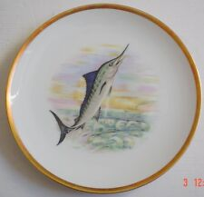 Hutschenreuther Bavaria Germany Collectors Plate STRIPED MARLIN