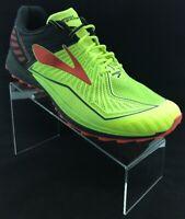 Brooks Mazama D Volt Black Red Men Size 11 Trail Running Shoes 1102351 D