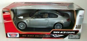 Motormax 1/18 Scale - 73182 BMW M3 Coupe Grey