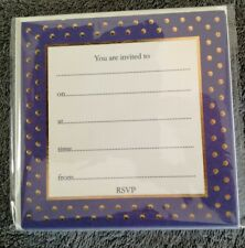 Invitation cards x 8 - Phoenix Trading - suit many uses