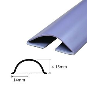 Seal Strip Stopper Edge Protector Self-Adhesive Silicone Rubber Sealing