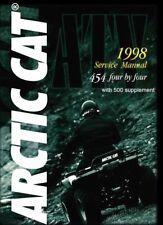 1998 Arctic Cat ATV 454 4x4 & 500 models repair shop service manual on CD