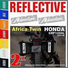 2x ADVENTURE white Africa Twin CRF1000L HONDA 2016 ADESIVI PEGATINA STICKERS