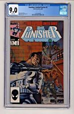 Marvel's Punisher #2 Limited Series CGC 9.0