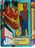 BIG JIM ☆ TORPEDO FIST G. H. ☆'77 # 9940- PRODUZIONE EUROPEA- ►NEW◄ REPROBOX v.5