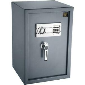 Large Safe Box Electronic Lock Sentry Steel Home Office Security ParaGuard Gray