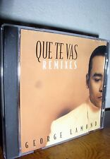 Que Te Vas Remixes [Maxi Single] by George Lamond (CD, Sep-1999, Sony Discos Inc