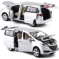 Honda Odyssey MPV 1:32 Metal Diecast Model Car Toy Collection Sound&Light HOT