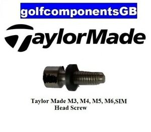 1 X HEAD SCREW/BOLT FOR TAYLOR MADE M3/M4/M5/M6/SIM ADAPTOR WITH FREE P&P