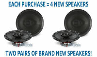 """4) NEW! Rockford Fosgate R165X3 Prime 180W RMS 6.5"""" Coaxial Car Stereo Speakers"""