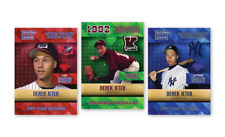 Derek Jeter 1992-93-94 (3) CARD LOT VERY RARE HIGH SCOOL MINOR LEAGUE YANKEES.