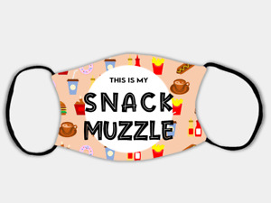 Snack Muzzle Adjustable Face Mask with 2 x PM2.5 Filters