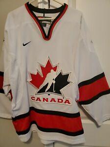 Team canada hockey jersey