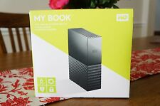 WD 6TB My Book Desktop External Hard Drive - USB 3.0  - Black
