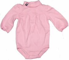 Gymboree Infant Baby Girl Cute Panda Bear Collar Pink Pleated Bodysuit 3-6 Mos.