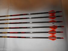 Gold Tip Hunter 400 5575 Carbon Arrows w/ Blazer Vanes! CUT TO LENGTH expedition