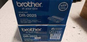 Twin Pack Genuine Brother DR2025 Drum for HL2030,2040,2070N MFC7220, 7225N