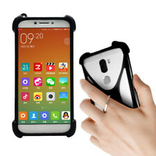 For Various smartphone - Silicone Case Cover Skin Ring Holder Stand Etui Bumper