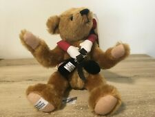 Vintage Merrythought Jointed Mohair Teddy Bear & Backpack  #53 of 250 Rare