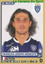 057 FRANCOIS-JOSEPH MODESTO # SC.BASTIA Cagliari Calcio STICKER PANINI FOOT 2016