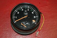 Porsche 911 930 Turbo Tach Tachometer With Boost 93064130201 OEM Gauge