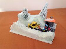 Scratch built OO gauge diorama of a winter scene. Suit railway / Hornby