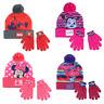 Boys Girls Kids Official Licensed Winter Hat And Gloves Set