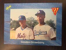 1991 Classic Dwight Gooden Darryl Strawberry New York Mets T99