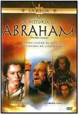 LA HISTORIA DE ABRAHAM (LA BIBLIA)NEW DVD EN ESPANOL