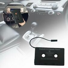 Car Bluetooth Audio Cassette to Aux Adapter Tape Converter Built-in Battery
