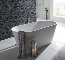 CG Jamaica 1700mm Thin Rim Freestanding Designer Stone 800mm Bath with-out Tap