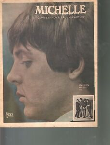 Michelle 1965 The Beatles Sheet Music