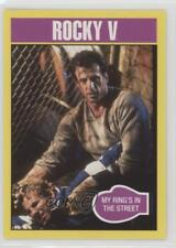 2016 Topps Rocky 40th Anniversary #227 V My Ring's in the Street Card 0w6