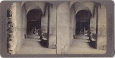 Berne Arcades Suisse Photo Stereo Stereoview Papier Argentique Vintage