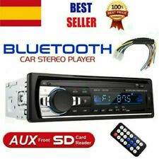 1DIN Coche Estéreo FM/AUX/USB/SD/MMC Bluetooth Radio Reproductor de MP3 IOS